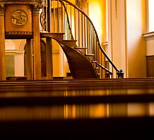 Golden Stairs by nirajalok