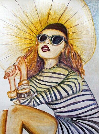 Sunshine glamour by Jenny Wood