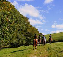 Exmoor: Pony Treking by Rob Parsons