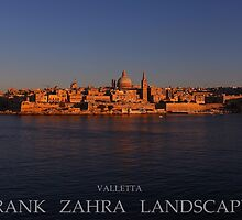 VALLETTA AT SUNSET by FrankZ
