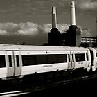 Leaving Victoria Station  by Ines Mihalji