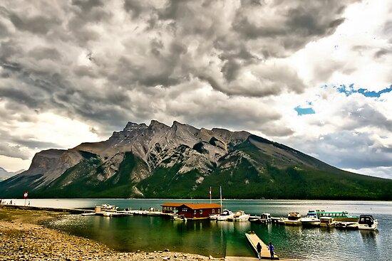 Minnewanka Lake, Banff NP by Teresa Zieba