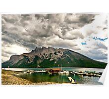 Minnewanka Lake, Banff NP Poster