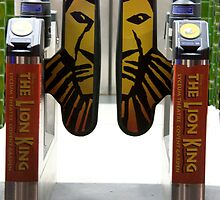 Lion King Turnstile by phil decocco