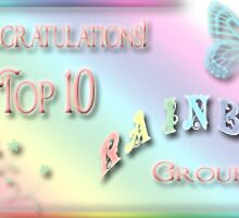 Rainbow Top 10 Banner... *Challenge not done yet* by Qnita