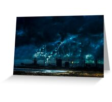 Industrial Carnage Greeting Card