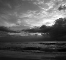 Dark rise....... Surfers Paradise by BK Photography