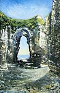 Arch, Flamborough Head by Sue Nichol