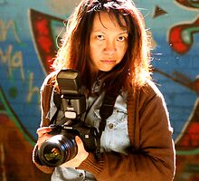 Camera Lady by Raoul Isidro
