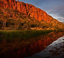 """Reflections"" Glen Helen Gorge - West Macdonnel Ranges-N.T. by Ohlordi"