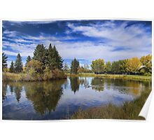 Reflections of Early Autumn  Poster