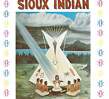 I am a Sioux Indian (book cover) by AdrienneAnn