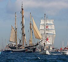 Falmouth Tall ships - Funchal 500 by GBR309