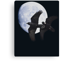 Night of the Ravens Canvas Print