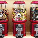 Gumball Machines by wingsdomain