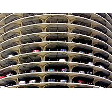 Marina City Parking Deck Chicago IL USA Photographic Print