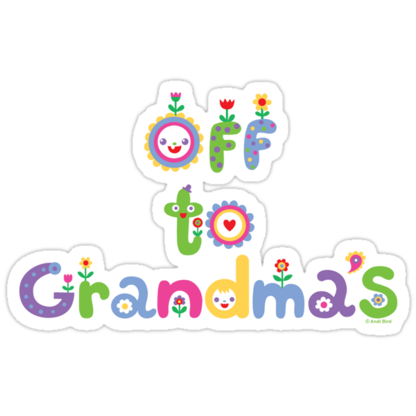 Off To Grandma's 2 - dark by Andi Bird