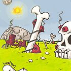 L'ancien pays des géants mangeurs de cervelles. by Weird