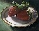 Strawberry Still Life by Michael Beckett