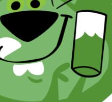 Lion Lime Sticker