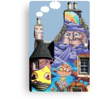 Kelburn Castle Graffiti Project - Fairlie Scotland Canvas Print