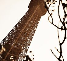 Tower in Sepia by Karen E Camilleri