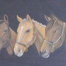 The three queens by Sharlene  Schmidt