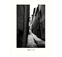 The Victorian Alley Art Print