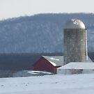 cold winter day in the country by Dan Wagner