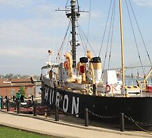 Port Huron Lightship 3 of 3 by Tanya Keefe