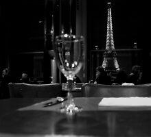 Paris - Café Carlu. by Jean-Luc Rollier