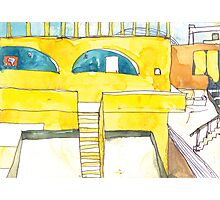 Rooftops of Mali Photographic Print