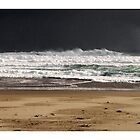 Approaching Storm - Johanna Beach by Craig Holloway