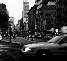 Cross Streets NYC by Sandy Taylor