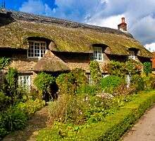 Country Cottage - North Yorkshire. by Trevor Kersley