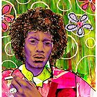 Jimmy Hendrix by symea