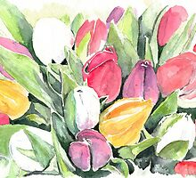 Tulips by Ally Tate