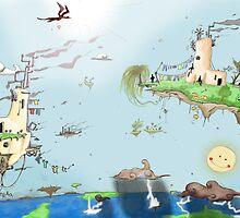 Iles volantes by Weird