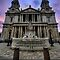 Great West Front & Towers - St Paul's Cathedral, London by Yhun Suarez