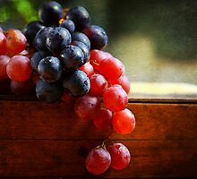 Grapes & Paint by Dragos Dumitrascu