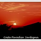 Costa Paradiso sunset. Sardinia.Italy.Brown Sugar 2003. by AndGoszcz