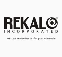 Rekal Incorporated by Stephen Sanderson