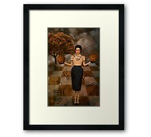 Watching Time Framed Print