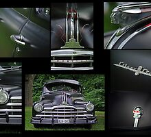 Pontiac 1948 Collage by Paola Svensson
