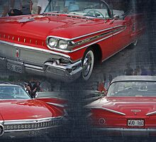 Red beauties collage by Paola Svensson