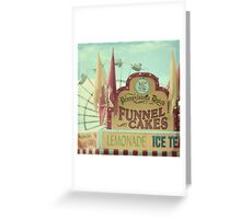 funnel cakes Greeting Card