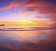 Grange Beach Mirror by joel Durbridge