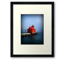 Sturgeon Bay Canal North Pierhead Light © Framed Print