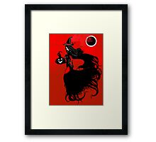 The Red Witch Framed Print