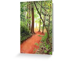 PATH TO THE HUDSON Greeting Card